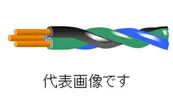 愛知電線DV2.0mm×2C 引込用ビニル絶縁電線(DV) 2個より 中部電力仕様 100m巻