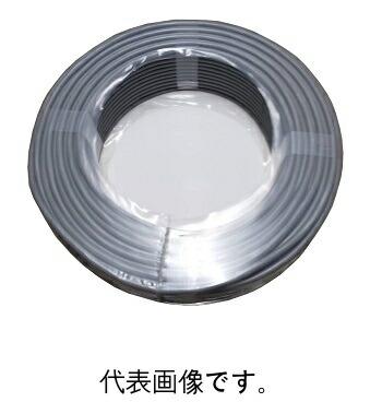 <あす楽>富士電線MVVS0.75SQ×2C マイクコード 100m巻 灰色