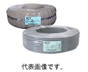 【ファッション通販】 富士電線 VCT5.5SQ×3心 ビニルキャプタイヤコード100m巻 灰色, ヨノウヅムラ bda62484