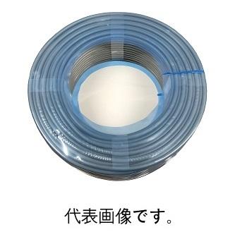 富士電線VCTF1.25SQ×5C ビニルキャプタイヤコード 100m巻 灰色