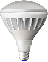 岩崎電気LDR14L-H/W830 レディオック LEDアイランプ14W 白色塗装 電球色 口金E26