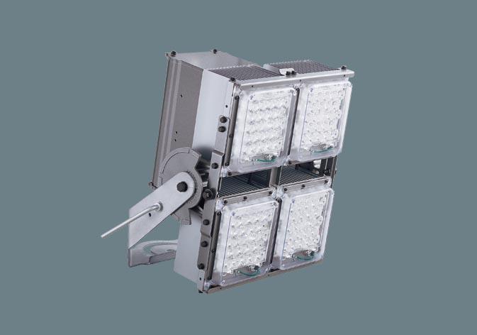 パナソニックNNY24628LF2 LED(昼白色) 投光器 マルチハロゲン灯Sタイプ1000形相当 電源内蔵タイプ 1/10ビーム角38度 定格出力初期光束補正型・防雨型・重耐塩害仕様