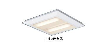パナソニックXL464PEFLA9スクエアシリーズ直付 埋込兼用型下面開放タイプFHP23形×4灯相当タイプ温白色