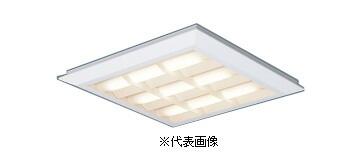 パナソニックXL472CBFLA9スクエアシリーズ直付 埋込兼用型格子タイプFHP32形×3灯節電タイプ温白色