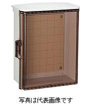 日東工業 キー付耐候プラボックス透明扉屋根付 OPK20-55CA