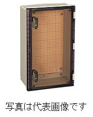 日東工業 PL形プラボックス PL10-45CA 木製基板タイプ 透明扉