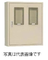 日東工業 TB20-69M2C テナントキャビネット 検針窓2個 色 クリーム