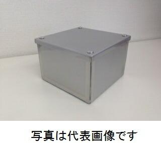 ステンレス防水形プールボックス カブセ蓋 縦500mm×横500mm×深さ400mm 材質SUS304