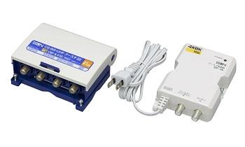 サン電子 CBF-K41D 4K・8K衛星放送対応 41dB型UHF/BS・CSブースター