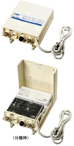 サン電子SB-7730TW ホーム用屋外・屋内用電源着脱型CATV双方向ブースタ