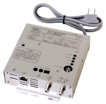 メーカー在庫限り サン電子TLC-2000MA TLCモデム(同軸LANモデム TV 信号混合機能付壁面取付型)