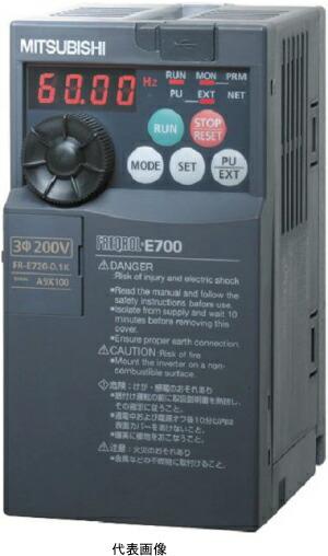 三菱電機FR-E720-1.5K簡単・パワフル小形インバータ FREQROL-E700シリーズ 三相200V