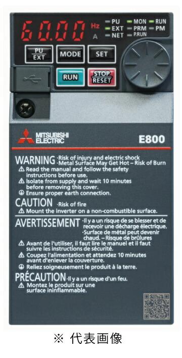 柔らかい 三菱電機FR-E820-0.1KEPA最小クラスの高性能インバータFREQROL-E800シリーズ三相200VインバータND定格容量0.1kwEthernet通信タイプ:電材BlueWood-木材・建築資材・設備