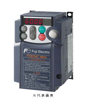 【驚きの価格が実現!】 富士電機FRN2.2C2S-4Jコンパクト形インバータFRENIC-Miniシリーズ三相400V適用モータ2.2kW:電材BlueWood-木材・建築資材・設備