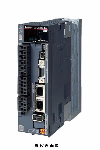 三菱電機MR-J4-10GF1-RJサーボアンプCC-Link IE フィールド 0.1KW用単相100~120Vフルクローズド制御4線式機械端エンコーダABZ相入力対応機能安全ユニット対応