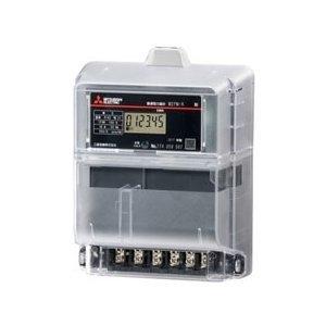 三菱電機 M2PM-R 3P3W 200V 30A 電子式電力量計 三相3線式普通電力量計 単独計器発信装置なし検定付 ※必須 周波数選定してください!