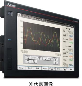 三菱電機GT2710-STBDグラフィックオペレーションターミナル 10.4型 SVGA[800×600]TFTカラー液晶 65536色メモリ57MB DCタイプパネル色:黒マルチメディア・ビデオ/RGB対応マルチタッチ対応
