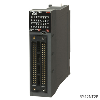 三菱電機RY42PT1PMELSEC iQ-Rシリーズトランジスタ出力ユニットソースタイプトランジスタ出力:64点DC12/24V 0.1A