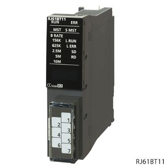 三菱電機RJ61BT11MELSEC iQ-RシリーズCC-Linkシステムマスタ・ローカルユニット
