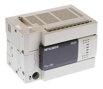 三菱電機FX3U-16MT/ESSMELSEC-FX3Uシリーズ基本ユニット電源AC100~240V