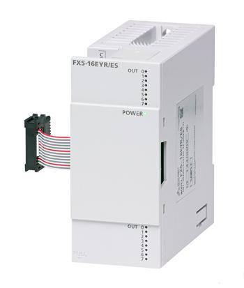 三菱電機FX5-16EYR/ES出力ユニット出力:16点 リレー
