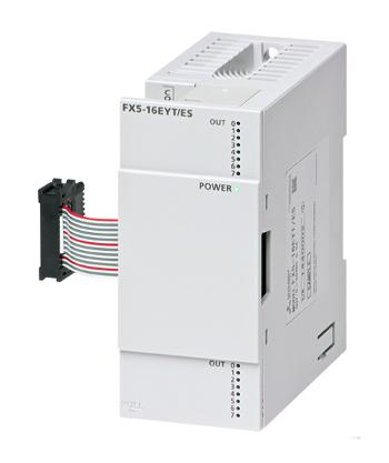 三菱電機FX5-16EYT/ES出力ユニット出力:16点 トランジスタ シンク