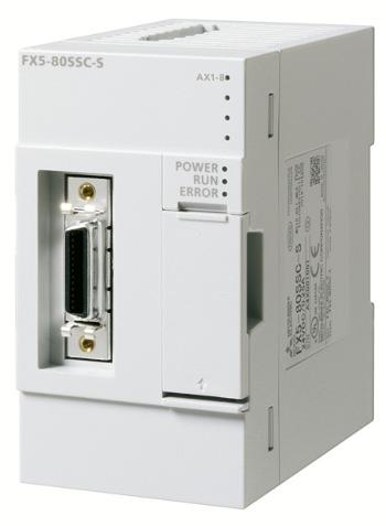 三菱電機FX5-80SSC-S出力ユニットシンプルモーションユニット制御軸数8軸