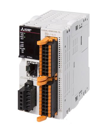 三菱電機FX5UC-32MT/DSS-TSFX5UC CPUユニット電源DC24V入力:16点DC24V シンク/ソース出力:16点トランジスタ ソース