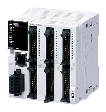 三菱電機FX5UC-96MT/DSSFX5UC CPUユニット電源DC24V入力:48点DC24V シンク/ソース出力:48点トランジスタ ソース