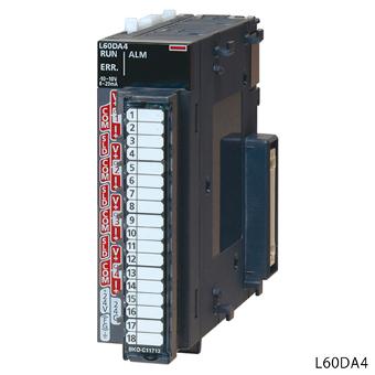 低価格の 三菱電機L60DA4MELSEC-Lシリーズディジタル−アナログ変換ユニット:電材BlueWood-木材・建築資材・設備