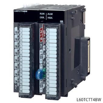 三菱電機L60TCTT4BWMELSEC-Lシリーズ温度調節ユニット熱電対入力入力チャンネル4chヒータ断線検知機能付