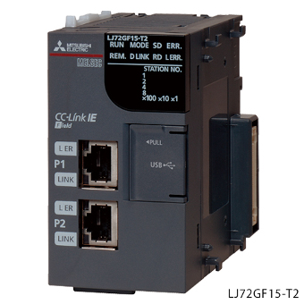 三菱電機LJ72GF15-T2MELSEC-LシリーズCC-Link IEフィールドネットワークヘッドユニット