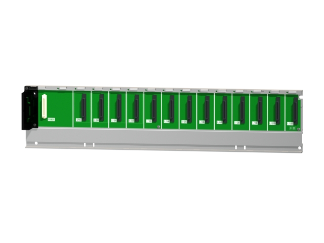 三菱電機Q312DB汎用シーケンサMELSEC-QシリーズマルチCPU間高速基本ベースユニット12スロット電源ユニット装着要Qシリーズユニット装着用