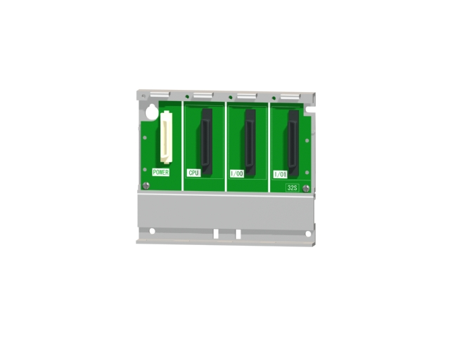 三菱電機Q32SB汎用シーケンサMELSEC-Qシリーズスリムタイプ基本ベースユニット2スロット電源ユニット装着要Qシリーズユニット装着用