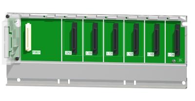 三菱電機Q35B汎用シーケンサMELSEC-Qシリーズ基本ベースユニット5スロット 電源ユニット装着要Qシリーズユニット装着用
