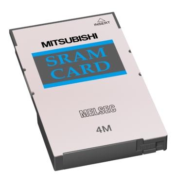 三菱電機Q3MEM-4MBSSRAMカード容量:4Mバイト