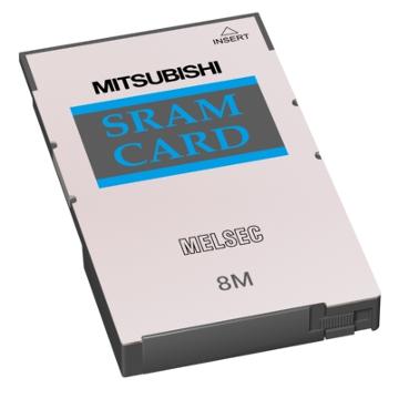 三菱電機Q3MEM-8MBSSRAMカード容量:8Mバイト