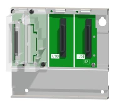 三菱電機Q52B汎用シーケンサMELSEC-Qシリーズ増設ベースユニット2スロット電源ユニット装着要Qシリーズユニット装着用