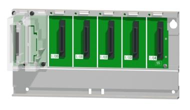 三菱電機Q55B汎用シーケンサMELSEC-Qシリーズ増設ベースユニット5スロット電源ユニット装着要Qシリーズユニット装着用