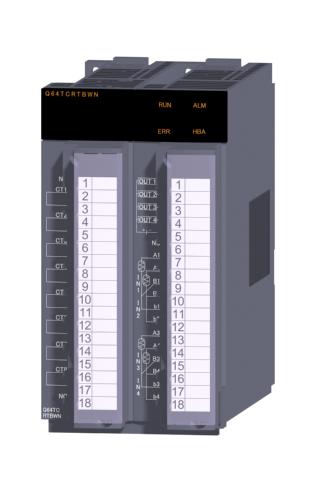 三菱電機Q64TCRTBWN温度調節ユニット4チャンネル 白金測温抵抗体