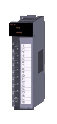 三菱電機Q68ADIアナログ-ディジタル変換ユニット8チャンネル