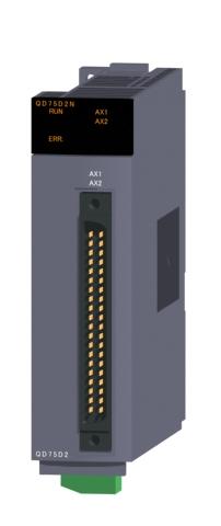三菱電機QD75D2N位置決めユニット差動ドライバ出力タイプ