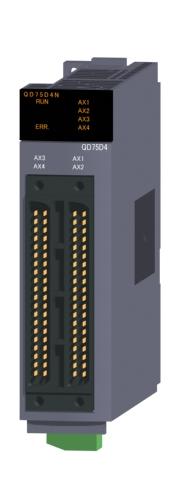 三菱電機QD75D4N位置決めユニット差動ドライバ出力タイプ
