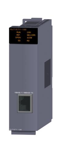 三菱電機QJ71E71-100Ethernetインタフェースユニット10BASE-T/100BASE-TX