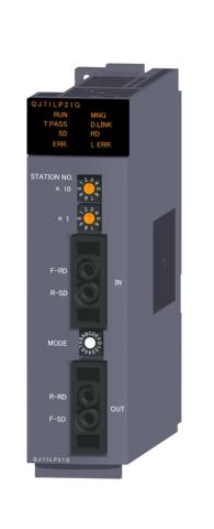 三菱電機QJ71LP21GMELSECNET/Hネットワークユニット光ループ(GI)