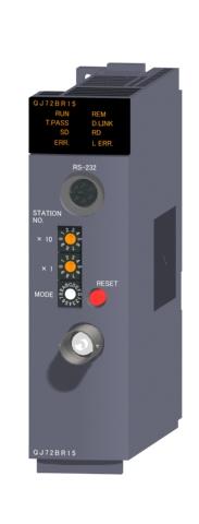 三菱電機QJ72BR15MELSECNET/Hネットワークユニット同軸パス