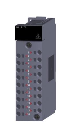 三菱電機QX10-TS汎用シーケンサMELSEC-QシリーズAC入力ユニットAC入力:16点 AC100~120V応答時間:20ms16点1コモン 18点スプリングクランプ端子台