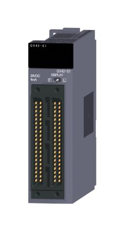 三菱電機QX42-S1汎用シーケンサMELSEC-QシリーズDC入力ユニット(プラスコモンタイプ)DC入力:64点 DC24V 4mA応答時間:0.1/0.2/0.4/0.6/1ms32点1コモン プラスコモンタイプ40ピンコネクタx2
