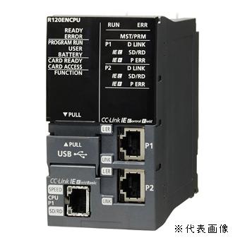 大好き 三菱電機R04ENCPUMELSEC IE内蔵シーケンサCPUユニットプログラム容量:40Kステップ基本命令処理時間(LD):0.98ns:電材BlueWood iQ-RシリーズCC-Link-木材・建築資材・設備