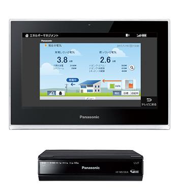 パナソニックHF-MC10A1スマートHEMS :モニター住宅機器コントローラー
